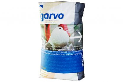 Garvo sierduif kortsnaveligen en kleine rassen met superkorn