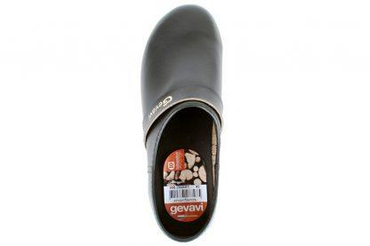 Gevavi 900 gesloten schoenklomp met houten-PVC zool