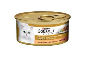 Gourmet Goldfijne hapjes met kalkoen & eend