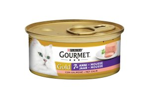 Gourmet Gold Senior mousse met zalm