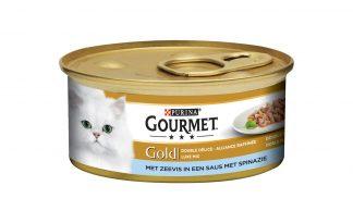 Gourmet GoldLuxe Mix zeevis en spinazie