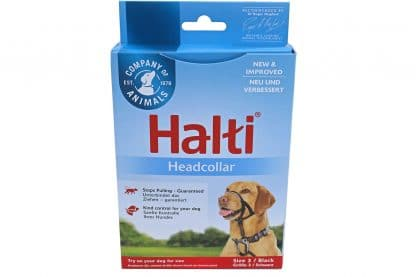 Het Halti Hoofdtuig biedt ondersteuning wanneer uw hond extreem trekt aan de lijn.