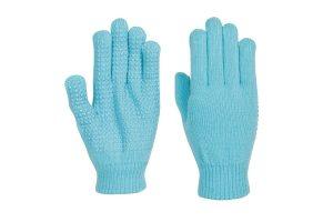 De Harry's Horse Magic Gloves Licht Blauw