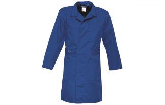 Havep stofjas poly-katoen rafblauw