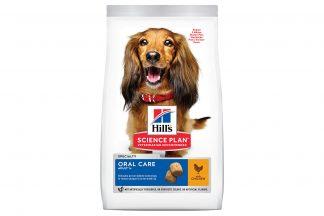 Hill's Science Plan Adult Oral Care Medium hondenvoer kip