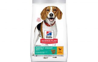 Hill's Science Plan Adult Perfect Weight Medium hondenvoer kip