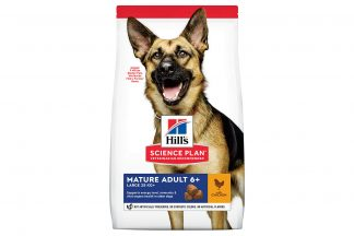 Hill's Science Plan Mature Adult Large Breed hondenvoer kip