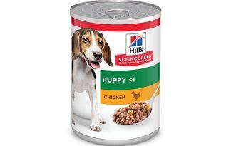 Hill's Puppy Kip blikvoeding 370 gram