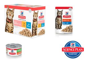 Hill's maaltijdzakjes natvoeding kat