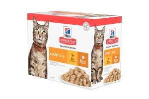 Hill's Science Plan Adult kattenvoer nat kip & kalkoen
