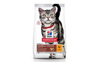 Hill's Science Plan Feline Adult Hairball Indoor Kip