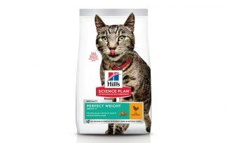 Hill's Feline Adult Perfect Weight kattenvoer