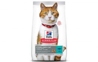 Hill's Science Plan Feline Young Adult Sterilised Cat tonijn