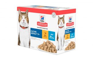 Hill's Science Plan Multipack Mature Favourite Selection
