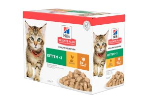 Hill's Science Plan Multipack Kitten Poultry Selection