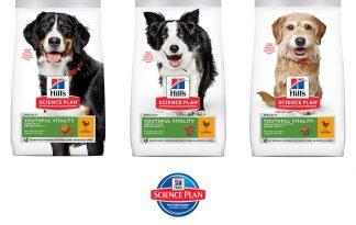 Hill's Science Plan Youthful Vitality brokvoeding hond