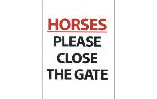 Waakbord horses