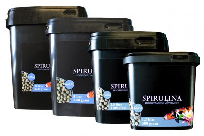 Huismerk Premium Koi voer Spirulina (6 mm)