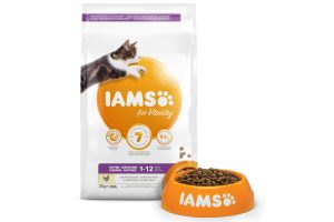 Iams for Vitality Kitten met verse kip