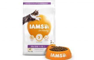 Iams for Vitality Kitten met verse kip