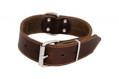Jack & Vanilla brede halsband bruin