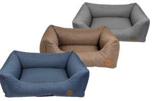 De Jack & Vanilla Checkmate Sofa is een heerlijke mand voor uw hond.