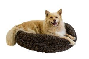 Het Jack & Vanilla Puff Husk kussen is een comfortabel hondenkussen