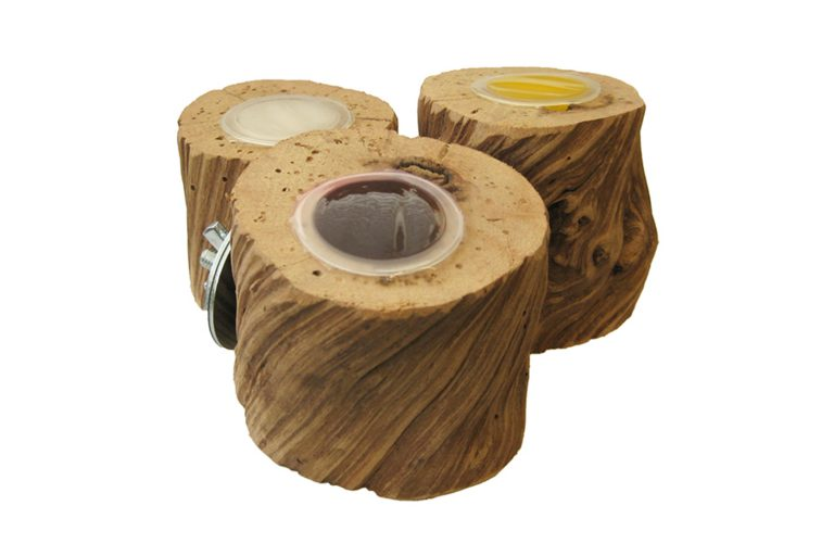 Jelly Cups fruitkuipjes houder Liaan met vulling