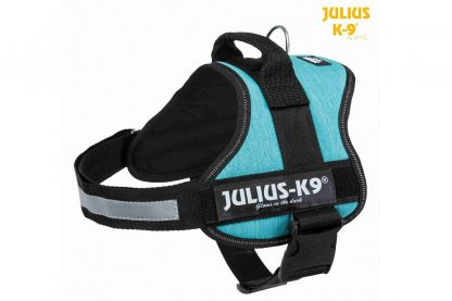Trixie Julius K9 Powerharnas hondentuig - 0 t/m 3 Oceaanblauw