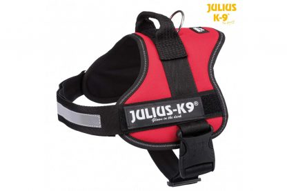 Trixie Julius K9 Powerharnas hondentuig - 0 t/m 3 Rood