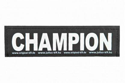 Trixie Julius K9 tekstlabel Champion