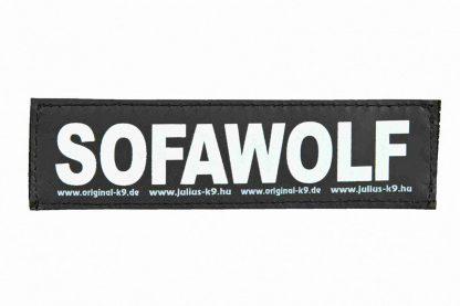 Trixie Julius K9 tekstlabel Sofawolf