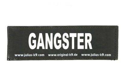 Trixie Julius K9 tekstlabel Gangster