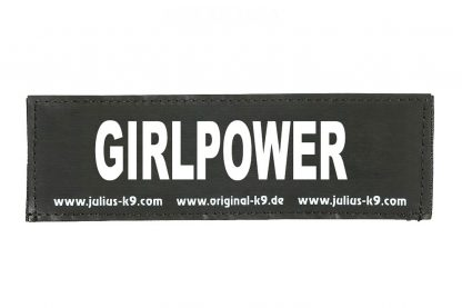 Trixie Julius K9 tekstlabel Girlpower