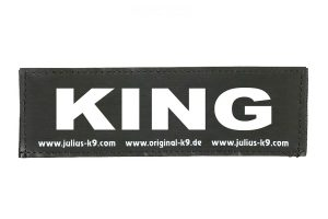 Trixie Julius K9 tekstlabel King