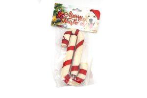 K9 Santa's Merry Christmas kerststok Duo