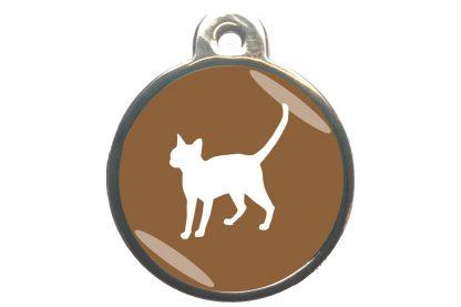 Kattenpenning alerte kat - bruin