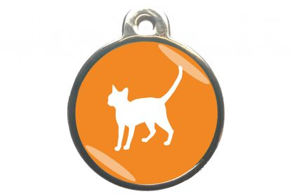 Kattenpenning alerte kat - oranje