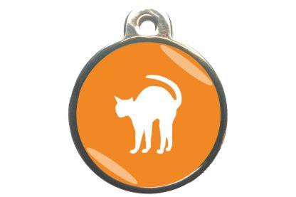 Kattenpenning bange kat - oranje