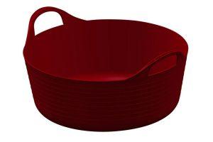 Kerbl FlexBag flexibele voeremmer - 15 liter rood