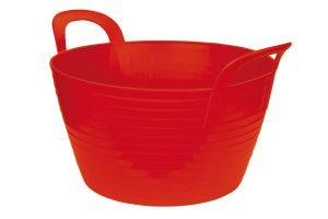 Kerbl FlexBag flexibele voertrog - 12 liter rood