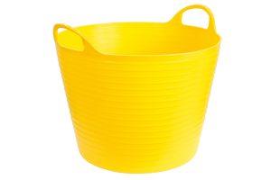 Kerbl FlexBag flexibele voertrog - 28 liter geel