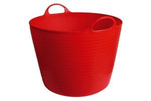 Kerbl FlexBag flexibele voertrog - 42 liter rood