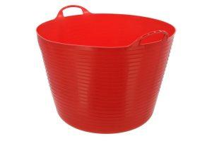 Kerbl FlexBag flexibele voeremmer - 60 liter rood
