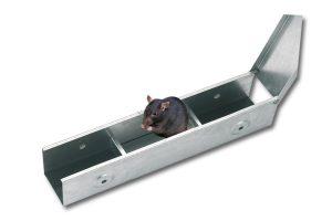 Kerbl ratten voerdoos metaal