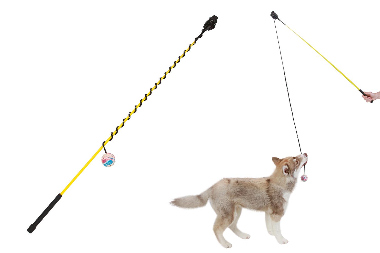 Kerbl hondenhengel met bal