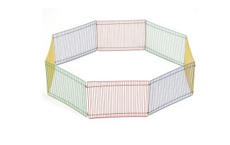 Kerbl knaagdierren gekleurd hamster - 8 panelen