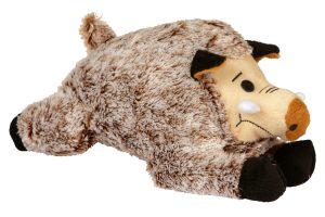 Kerbl Wild Zwijn hondenknuffel met piep