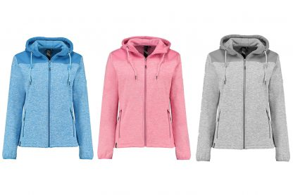 Kjelvik-Myra Vest Combi Grey Azur Pink