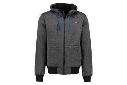 Kjelvik Nolan knitwear vest - Dark Antra